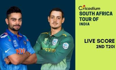 South Africa tour of India, 2019: IND vs SA 2nd T20I Live Score