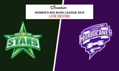 WBBL 2019: Women's BBL Match 3 MLSW vs HBHW Live Cricket Score