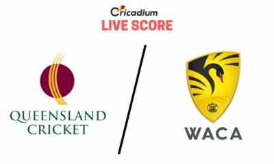Australia Domestic Marsh One-Day Cup 2019 16th Match Queensland vs Western Australia Live Cricket Score