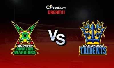 GAW vs BT Dream 11 team Today: Guyana vs Barbados Dream 11 Tips CPL 2019 Final