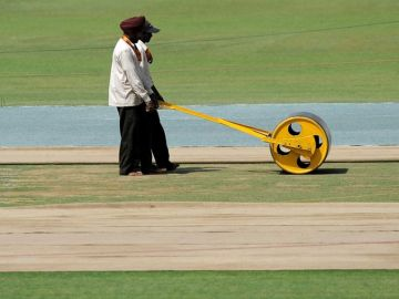 Mohali Pitch, India v South Africa