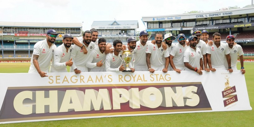 India wins the Test Series against West Indies (www.cricfooty.com)