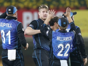 India v New Zealand, Fifth ODI