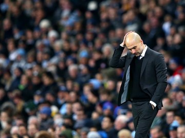 Pep Guardiola's first season as Manchester City manager has been a major disappointment