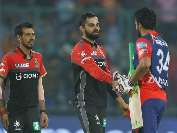 56th match: RCB end IPL 2017 with 10-run win over Delhi