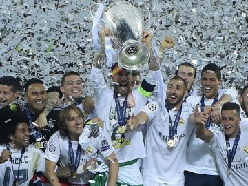 Most UEFA Champions League titles, winners