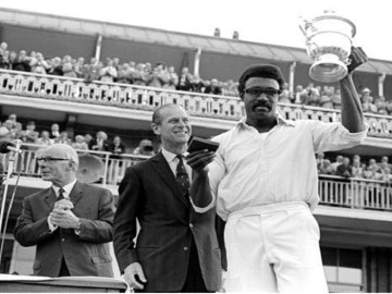 Clive Lloyd is a two-time world cup winning captain