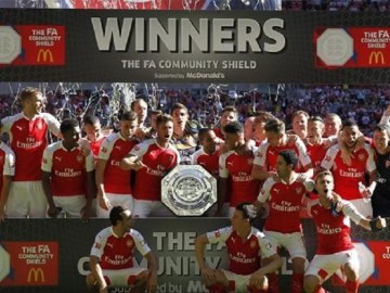 2017 FA Community Shield: Arsenal vs Chelsea, Chelsea vs Arsenal