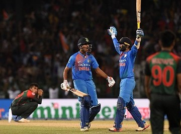 Nidahas Trophy final 2018, India vs Bangladesh