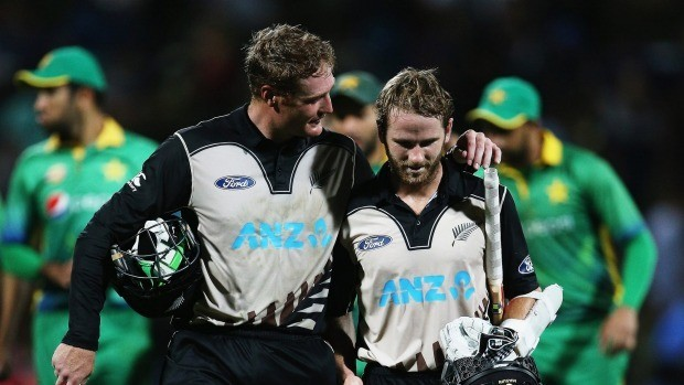 Guptill and Williamson Set World Record For Highest T20 Partnership