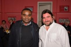 Michel N'GOUENE, All-Just, Thierry TOURNOY, directeur du CRIC