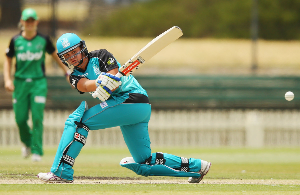 Ash Barty Making Her Mark At WBBL Au