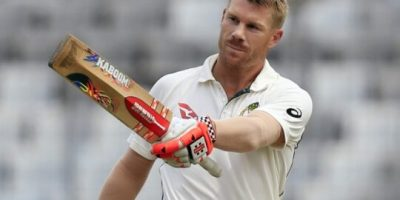David Warner out of 1st Test with India
