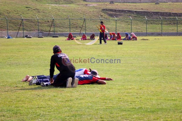 Nepali Cricket Team - During preparation for World Cricket League