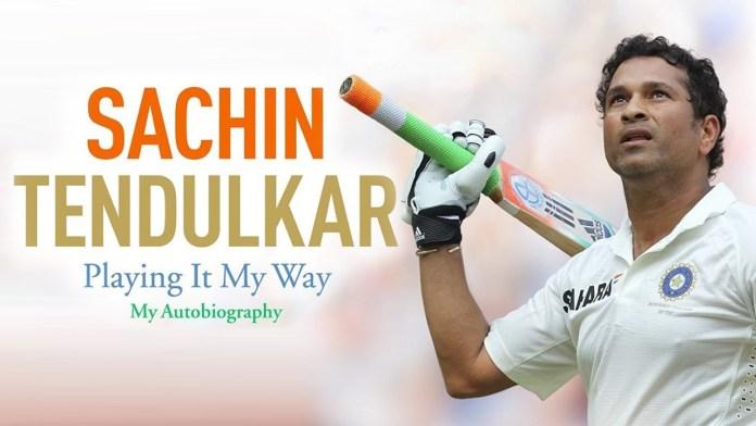 Celebrating Sachin Tendulkar's first ODI Century
