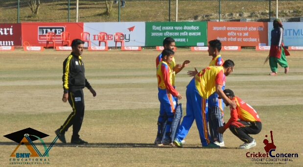 Ro-Hitman Paudel's fireworks of boundaries sealed the victory for Gladiators