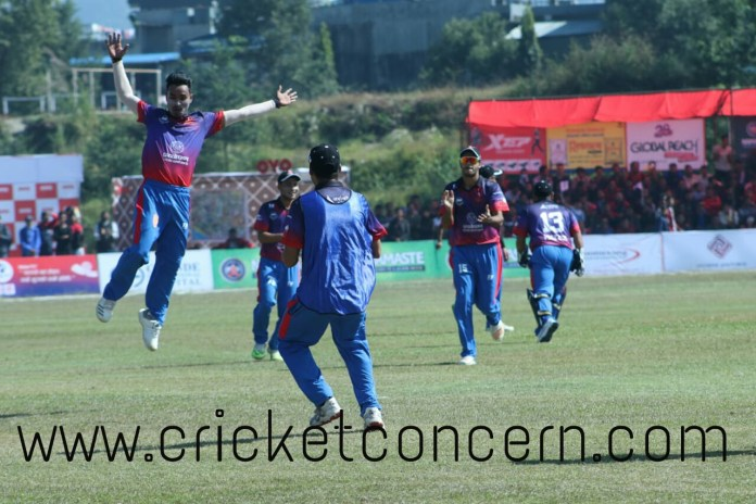 Sompal's master-piece spell scripted first win for Blasters