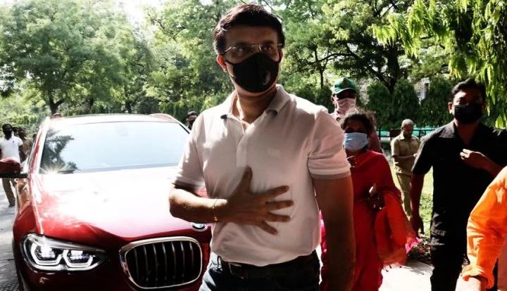 Sourav Ganguly felt chest pain