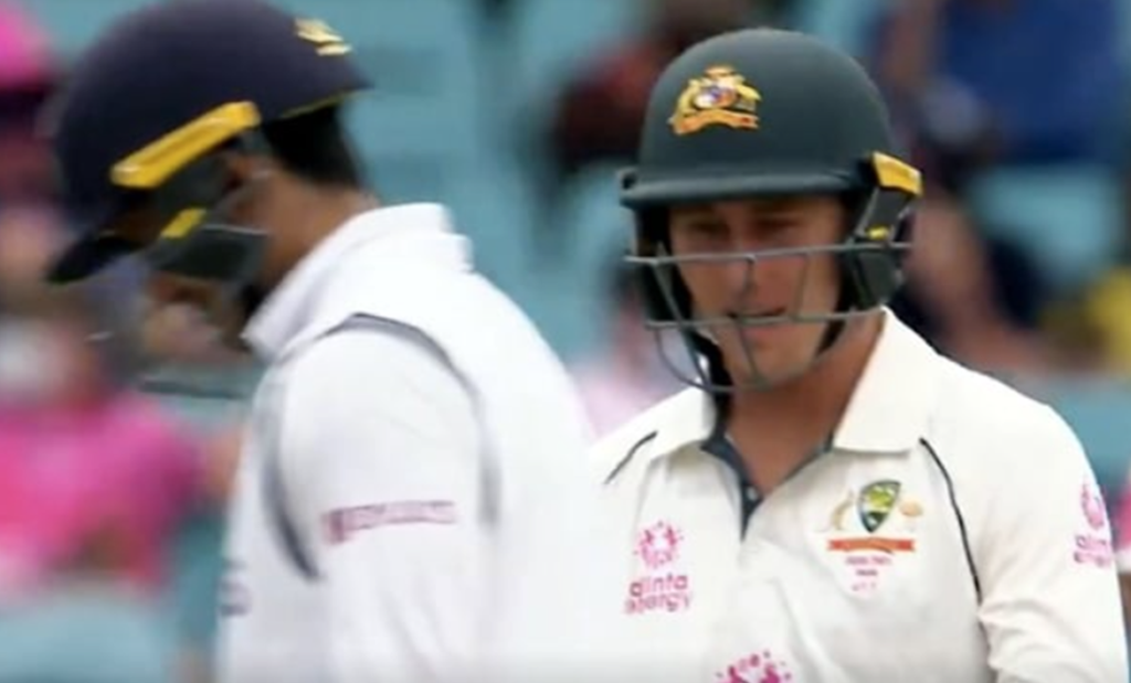 Marnus Labuschagne Tries To Sledge Indian Openers