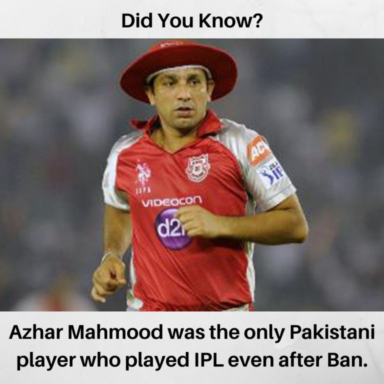 Only Pakistani Player To Have Played in IPL Even After Ban