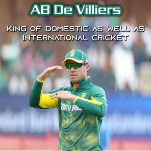 AB De Villiers I South African Cricketer I Cricketfile