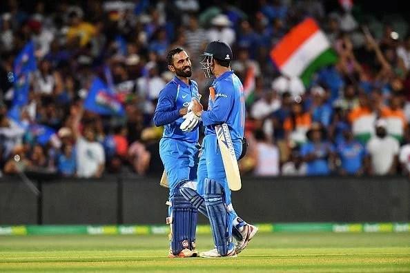 MS Dhoni Vs Dinesh Karthik | MSD VS DK I Cricketfile