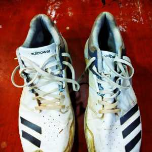 used Adidas Metal Spikes Shoes