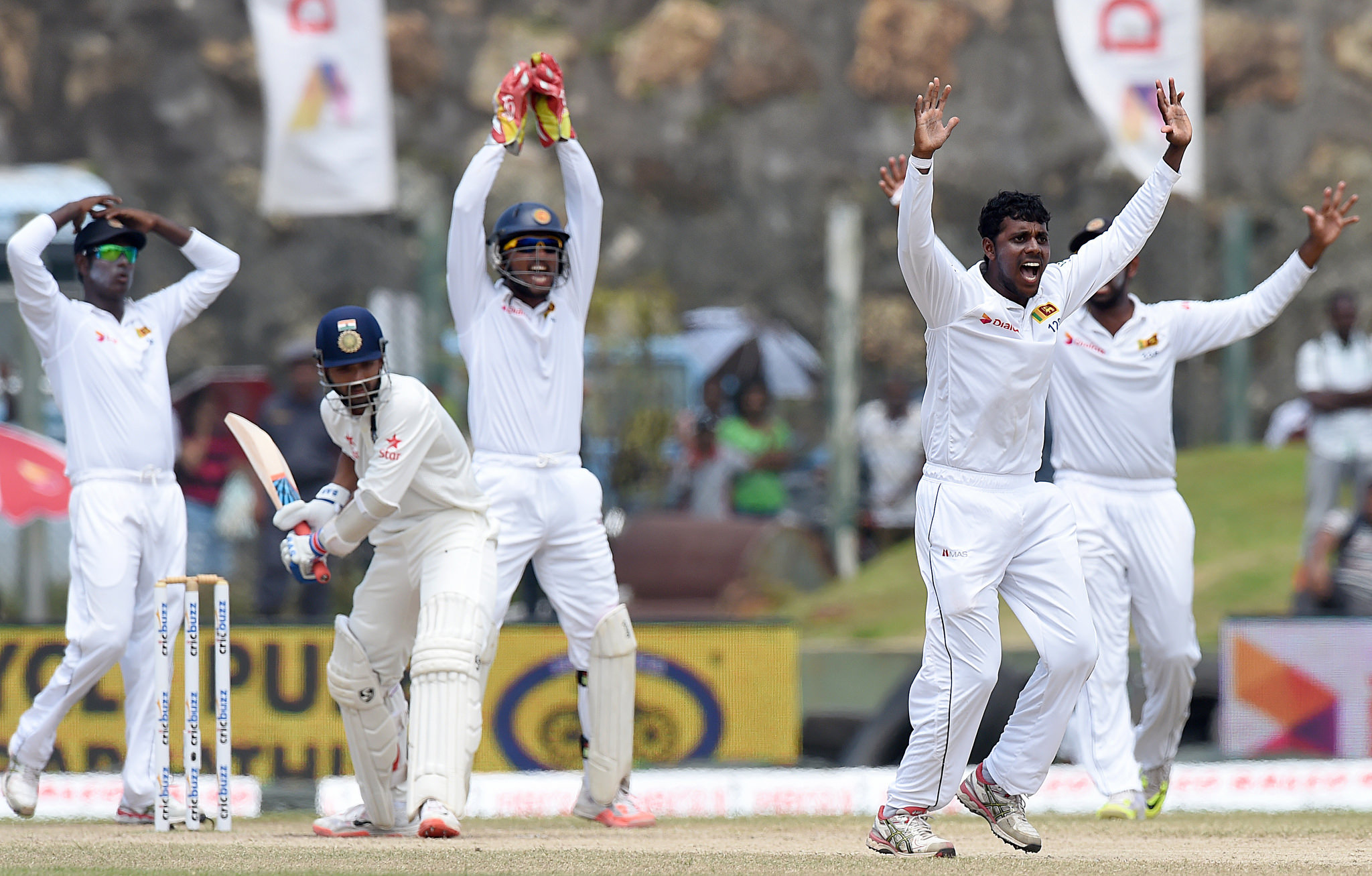 Sri Lanka didn't have a great 2015 in tests.