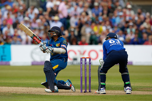 BRISTOL, ENGLAND - JUNE 26: Kusal Mendis of Sri Lanka in action during The 3rd ODI Royal London One-Day match between England and Sri Lanka at The County Ground on June 26, 2016 in Bristol, England. (Photo by Julian Herbert/Getty Images)