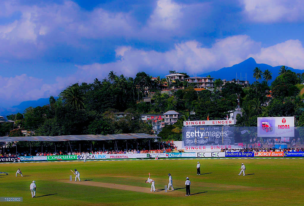 KANDY, SRI LANKA - DECEMBER 01: A general view of the stadium during Day one of the First Test Match between Sri Lanka and England at Asgiriya Stadium on December 1, 2007 in Kandy, Sri Lanka. (Photo by Stu Forster/Getty Images)