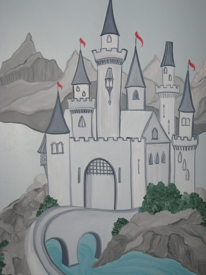 Painted for a children's playroom