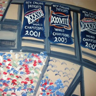Banners of past wins