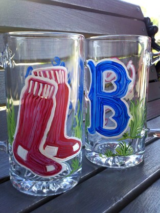 Red Sox Beer Mugs