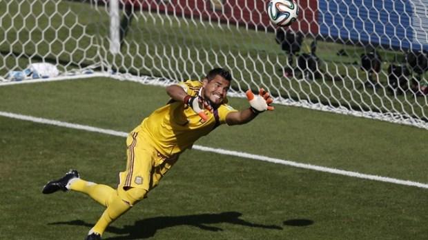 Argentine ace Romero