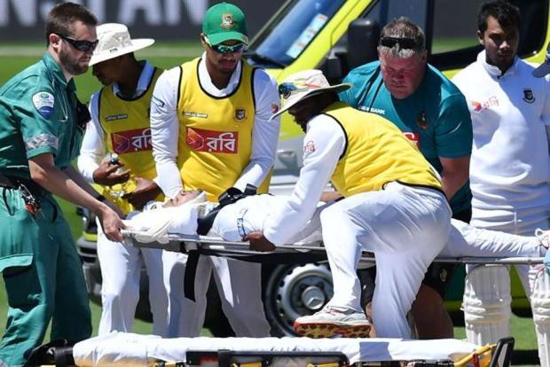 Mushfiqur Rahim injury