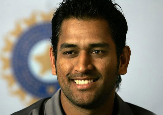 MS Dhoni candid