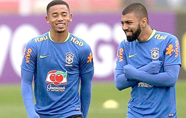 Gabriel Jesus and Gabigol