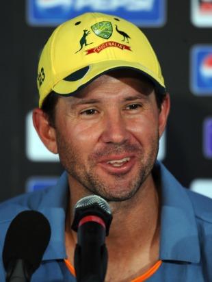 Australian cricket captain Ricky Ponting