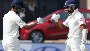 Pujara and Vijay partnership