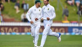 Keshav_Maharaj_celebrates_the_wicket_of_Tim_Southee