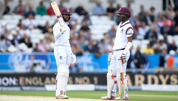 Shai Hope and Kraigg Brathwaite