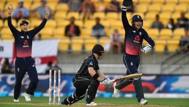 New Zealand v England ODI