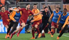 The impossible became possible as Roma beat Barcelona