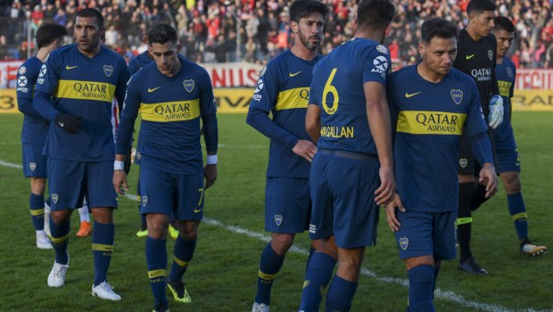 Estudiantes+v+Boca+Juniors+Superliga