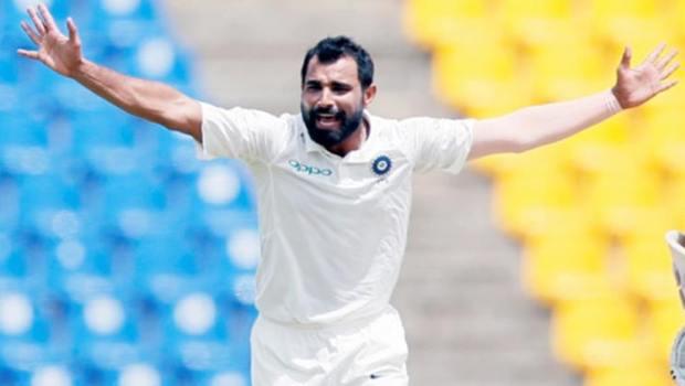 India's Mohammed Shami