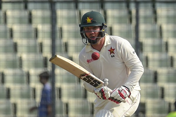 Brendan Taylor in action against Bangladesh, Second Test, Mirpur, 2018. Image Courtesy: ESPNcricinfo