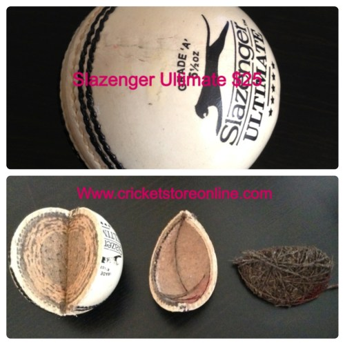 slazenger ultimate cricket ball