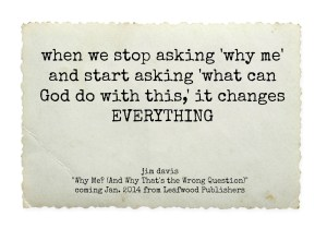 When we stop asking why