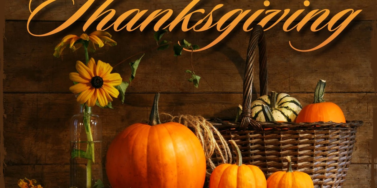 Giving Thanks in All Things