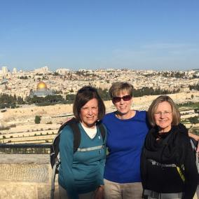CKeeth and friends in Jerusalem
